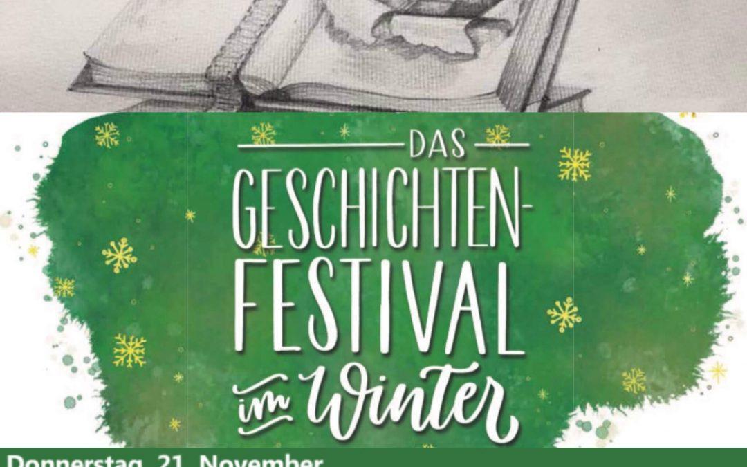 Ein Schloss erzählt Geschichtenfestival im Winter mit Folke Tegethoff