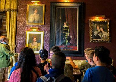 Schloss Kornberg Tour Schule