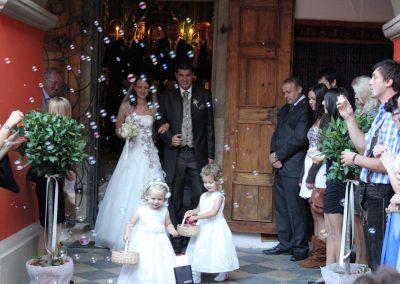 Gratulation Kapelle Schloss Kornberg