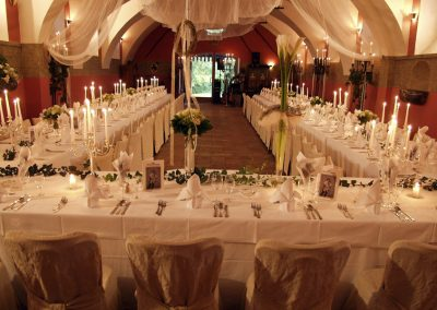 Hochzeit Rittersaal Schlosswirt Schloss Kornberg
