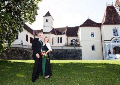 Hochzeit beim Spielplatz Schloss Kornberg