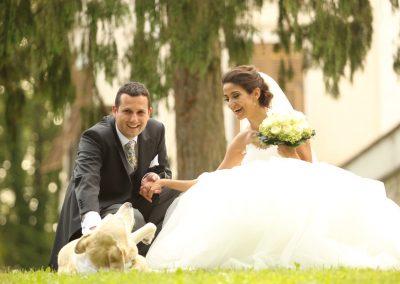 Hochzeit mit Hund Schloss Kornberg